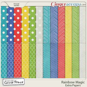 Rainbow Magic - Extra Papers