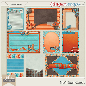 No1 Son Cards