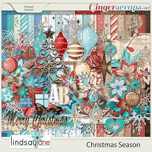 Christmas Season by Lindsay Jane