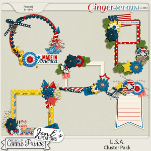 U.S.A. - Cluster Pack