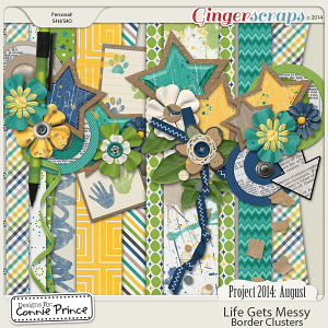 Project 2014 August: Life Gets Messy - Border Clusters