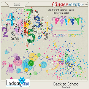 Back to School Scatterz by Lindsay Jane