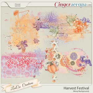Harvest Festival Messy Backgrounds