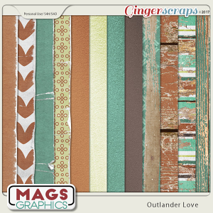 Outlander Love SPECIALTY PAPERS by MagsGraphics
