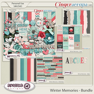Winter Memories - Bundle by Aprilisa Designs