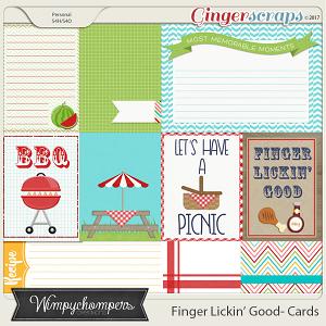Finger Lickin' Good Cards