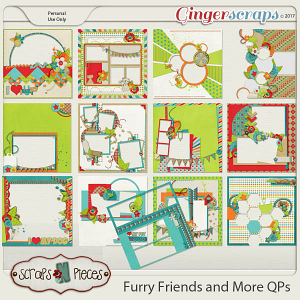 Furry Friends And More Quick Pages
