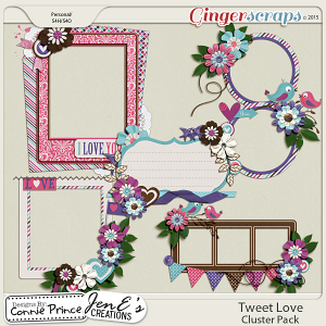 Tweet Love - Cluster Pack