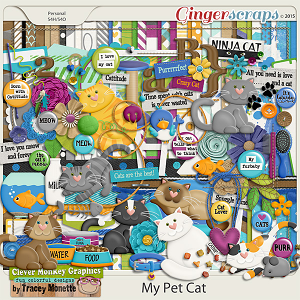 My Pet Cat by Clever Monkey Graphics