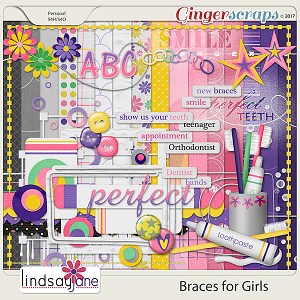 Braces for Girls by Lindsay Jane