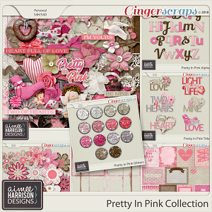 Pretty in Pink Collection by Aimee Harrison