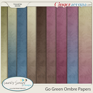 Go Green - Ombre Papers