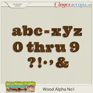 Wood Alpha No.1 by Clever Monkey Graphics
