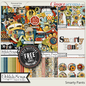 Smarty Pants Digital Scrapbook Bundle