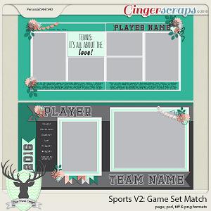 Sports: Game Set Match - Tennis