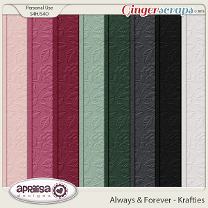 Always And Forever - Krafties by Aprilisa Designs