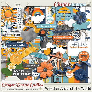 GingerBread Ladies Collab: Weather Around The World