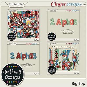 Big Top BUNDLE by Heather Z Scraps