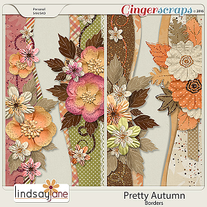Pretty Autumn Borders by Lindsay Jane