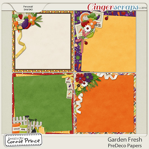 Retiring Soon - Garden Fresh - PreDeco Papers