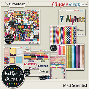 Mad Scientist BUNDLE by Heather Z Scraps