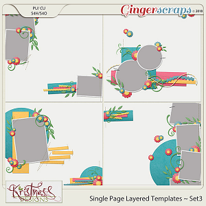 Single Page Layered Templates ~ Set3