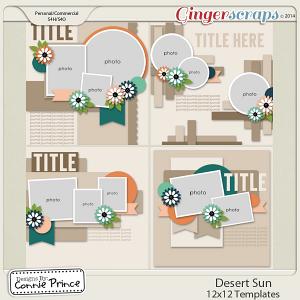 Desert Sun - 12x12 Temps (CU Ok)