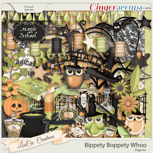Bippety Boppity Whoo Page Kit