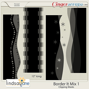 Border It Mix 1 by Lindsay Jane