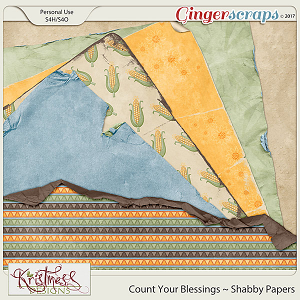 Count Your Blessings Shabby Papers