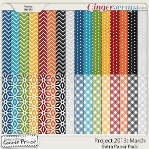 Project 2013: March - Extra Papers