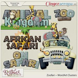Zoofari WordArt
