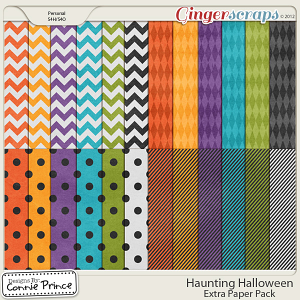 Retiring Soon - Haunting Halloween - Extra Papers