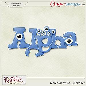 Manic Monsters Alphabet