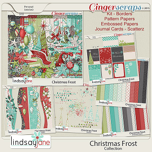 Christmas Frost Collection by Lindsay Jane