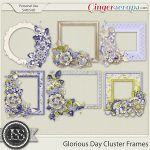 Glorious Day Cluster Frames