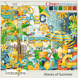 Waves of Summer by Lindsay Jane