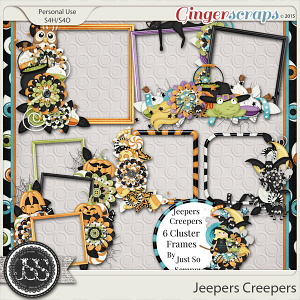 Jeepers Creepers Cluster Frames