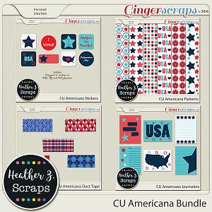CU Americana BUNDLE by Heather Z Scraps