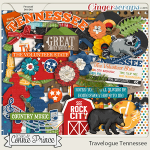 Travelogue Tennessee - Kit