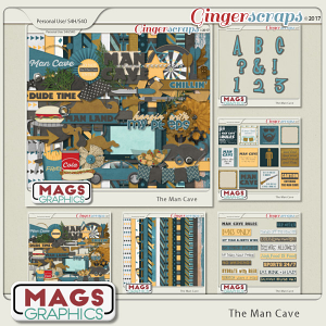 The Man Cave BUNDLE by MagsGraphics