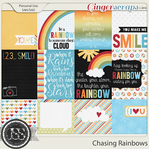 Chasing Rainbows Journal and Pocket Scrap Cards