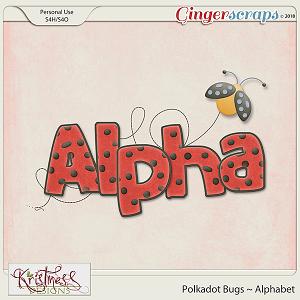 Polkadot Bugs Alphabet