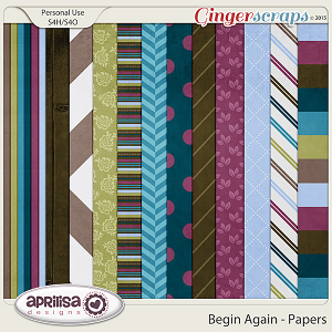 Begin Again - Papers by Aprilisa Designs