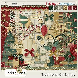 Traditional Christmas by Lindsay Jane