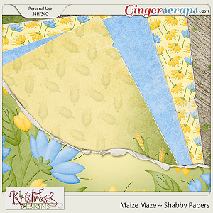 Maize Maze Shabby Papers