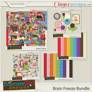 Brain Freeze Bundle by BoomersGirl Designs