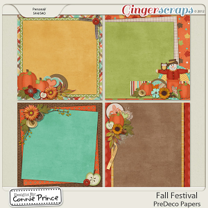 Fall Festival - PreDeco Papers