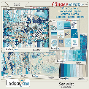 Sea Mist Collection by Lindsay Jane