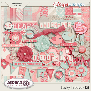 Lucky In Love - Kit by Aprilisa Designs